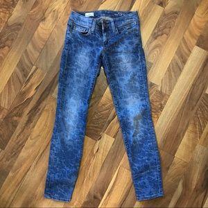 GAP 1969 • Always Skinny Floral Printed Jeans